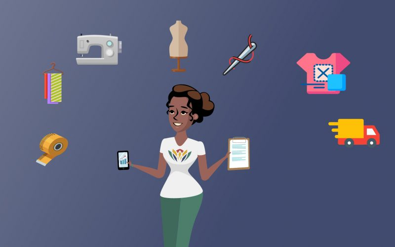 2D Animated Corporate Workwear Sales Video Morningside South Africa