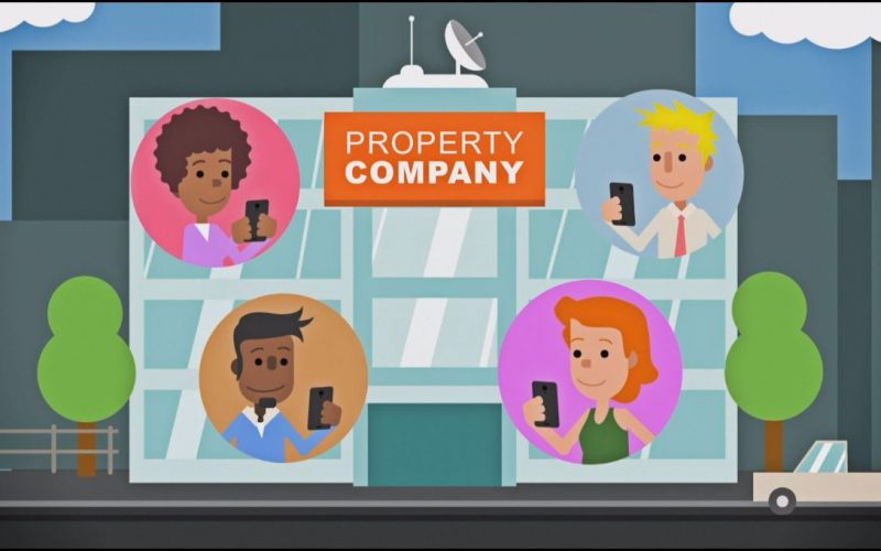 explainer video property management app