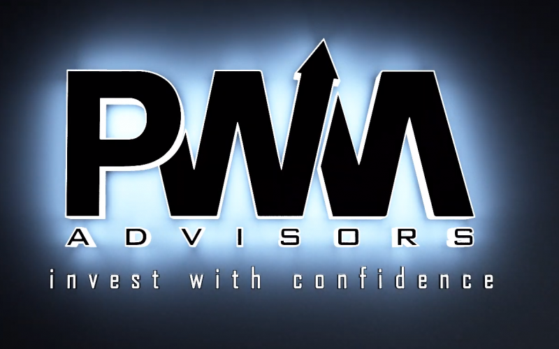 PWM Financial Advisors logo animation for marketing video