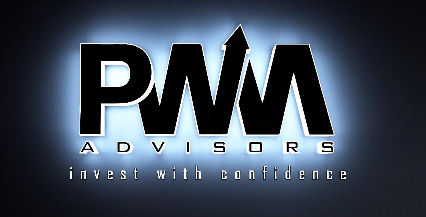 PWM Financial Advisors logo animation for marketing video