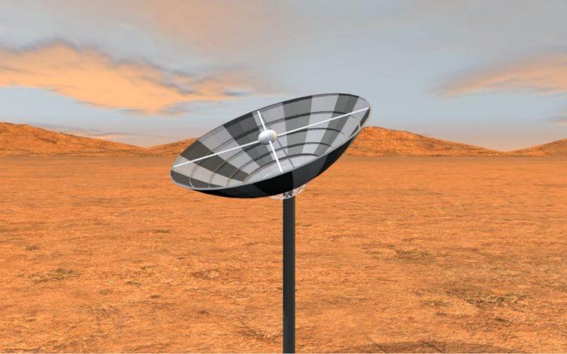 dar matter satellite 3d visualisation video